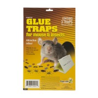 GLUE TRAPS MOUSE AND INSECTS #24202