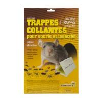 TRAPPES COLLANTES SOURIS ET INSECTES #24202