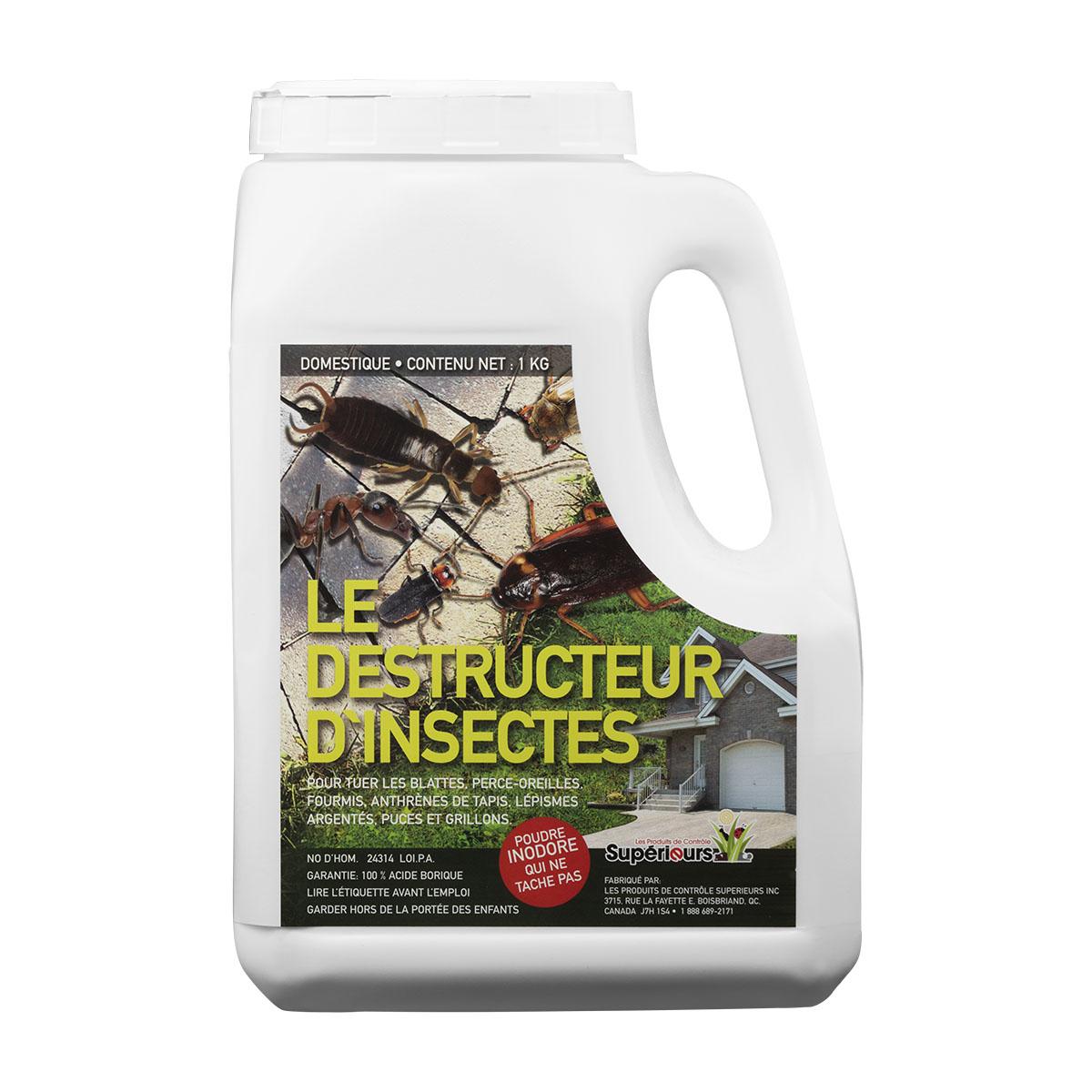 Acide borique fourmis fourmi charpentire de pav et - Tuer les fourmis ...